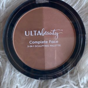 New! Ulta Bronzer Face Sculpting Palette 3-IN-1